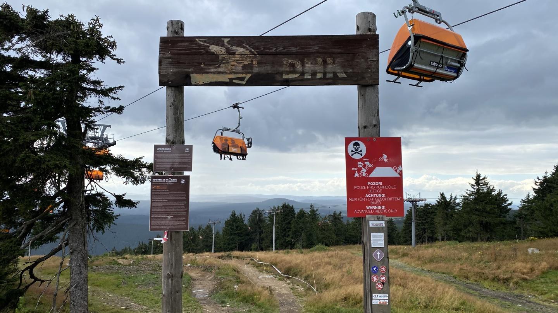 Downhill Klínovec | Krušnohorci