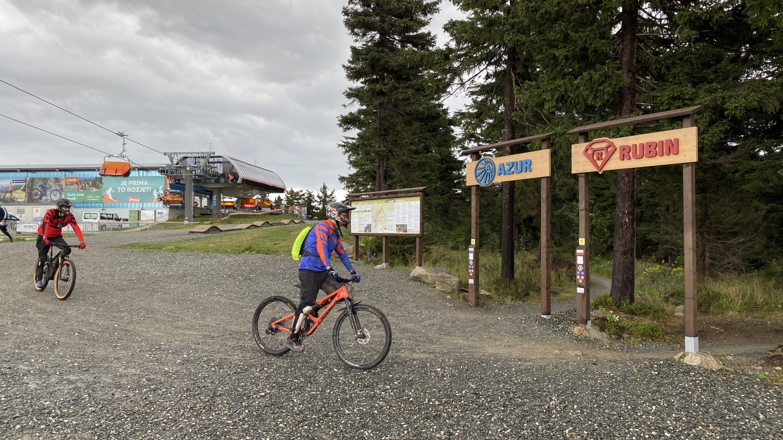 Trailpark Klínovec | Krušnohorci