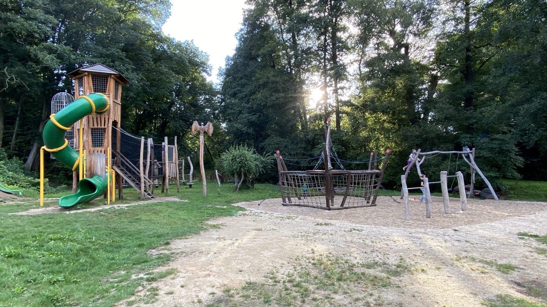 Dětské hřiště v Lokti
