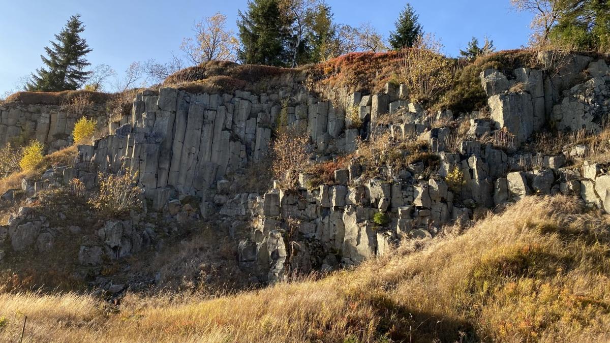 Steinbruch Hřebečná
