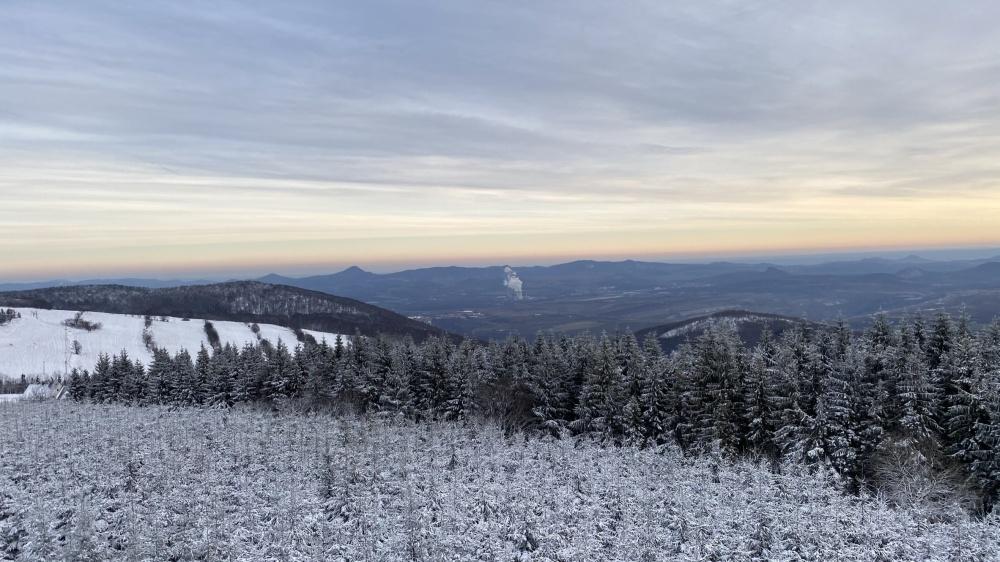 Rozhledna na Vlčí hoře | Krušnohorci