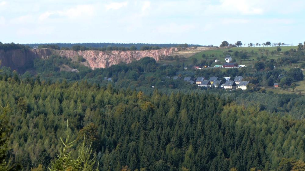 Propadlá pinka u Altenbergu | Krušnohorci