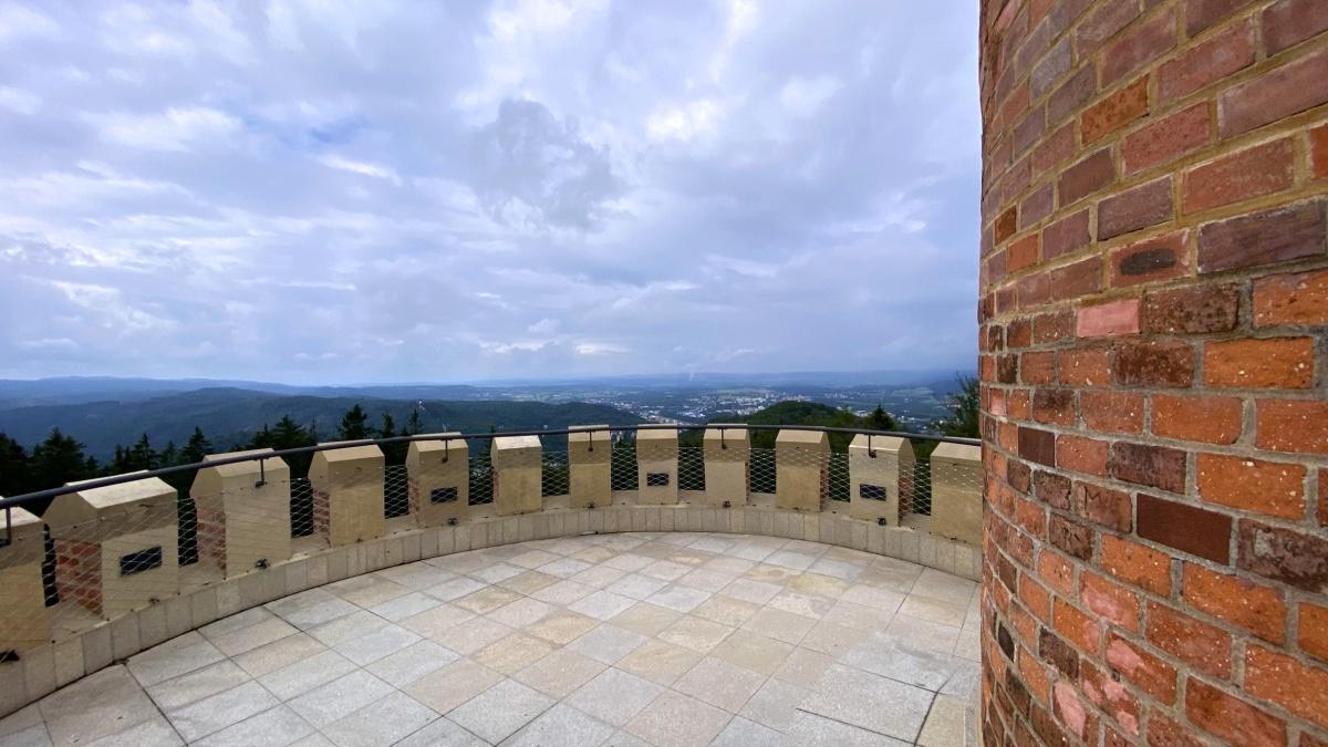 Vyhlídková plošina je komfortní i pro 10 návštěvníků | Krušnohorci