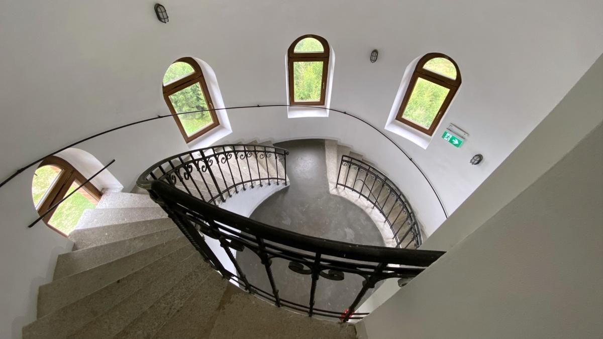 Goethova vyhlídka, schodiště | Krušnohorci