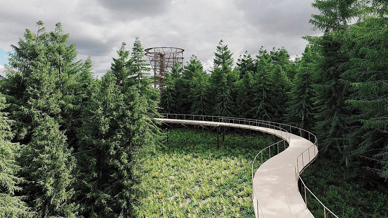Stezka Skywalk Klínovec  |  Skywalk Klínovec