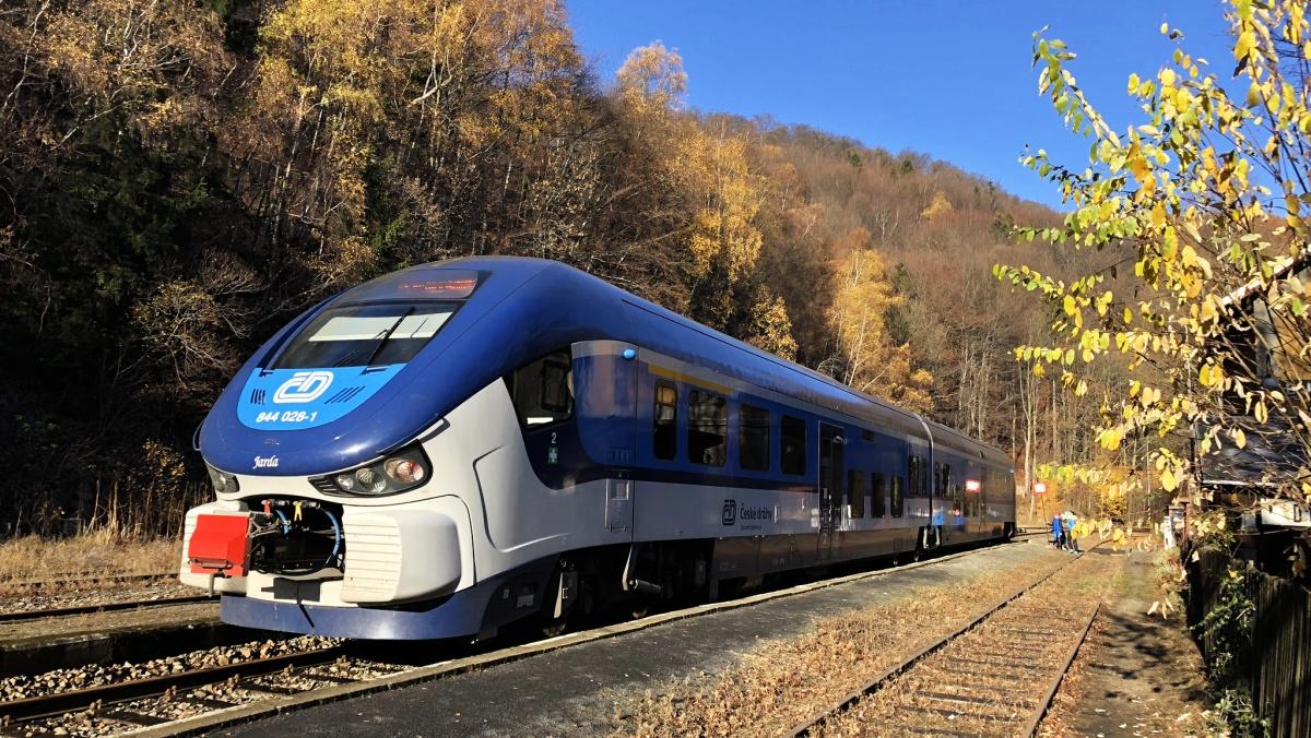 Krušné hory pro nadšence do  mašinek a železnice vůbec
